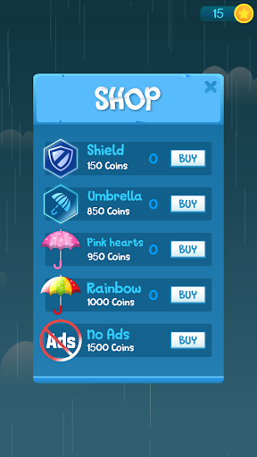 Télécharger Drip Drip Drop: Dodge Drops with Magic Umbrella mod apk screenshots 6