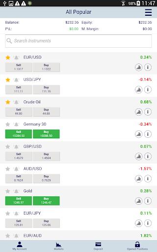 Xtrade - Online Trading modavailable screenshots 10
