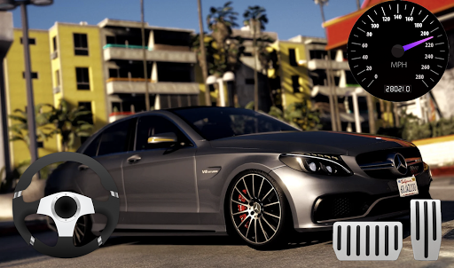 Parking Mercedes C63 AMG City Drive 11.1 screenshots 3