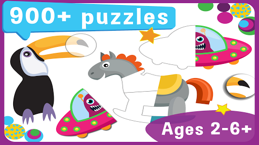 Toddler Educational Puzzles: Pooza for Toddlers apklade screenshots 1