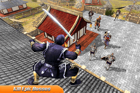 Superhero Ninja Sword Shadow Assassin Fight Mod Apk (Unlimited Points) 10
