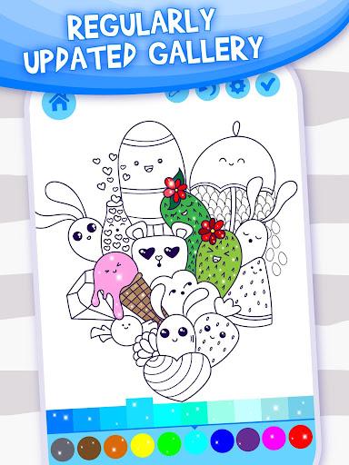 Doodle Coloring Book  screenshots 3