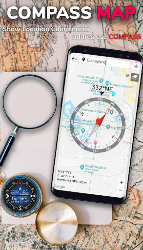 Smart Compass for Android - Compass App Free  Screenshots 2