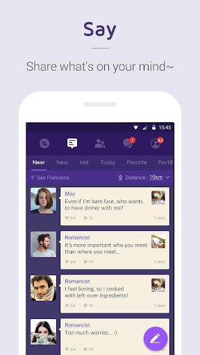 1km - Neighbors, Groups, New relationships apktram screenshots 3