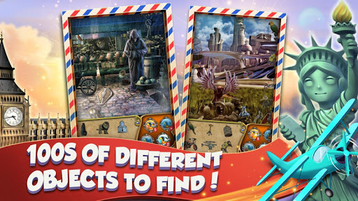 Hidden Objects World Tour - Search and Find 1.1.85b screenshots 2