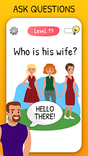 Who is? 2 MOD APK Tricky Chats and Brain (UNLIMITED BULB) 1