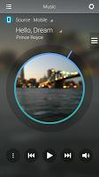 screenshot of Audio Remote