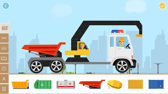 Brick Car 2 Game for Kids: Build Truck, Tank & Bus 1.1.30 screenshots 1