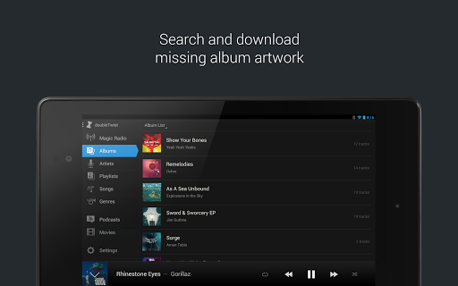 doubleTwist Music & Podcast Player with Sync screenshots 13