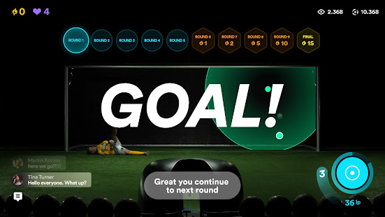 Live Penalty: Score goals against real goalkeepers 3.4.0 Screenshots 1
