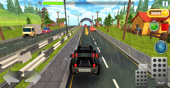 Cartoon Hot Racer 3D Screenshot