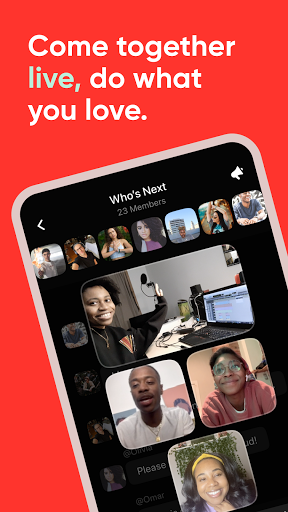 Airtime | A live social space  screenshots 1