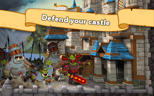 Hustle Castle: Castle games in medieval kingdom Screenshot