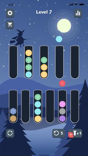Sort Color Balls - puzzle game  screenshots 2