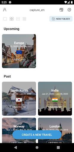 Trabee Pocket : Travel Expense apktram screenshots 1