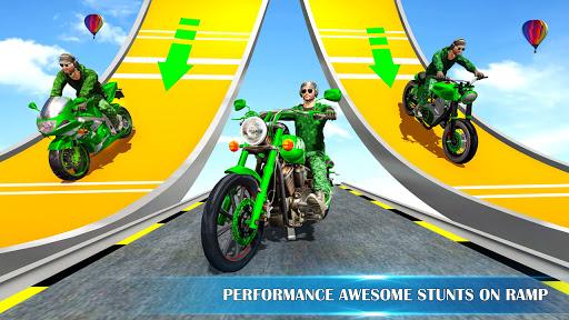 Army Stuntman Bike Stunt Games  Pc-softi 5