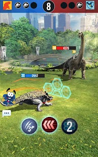 Jurassic World Alive Screenshot