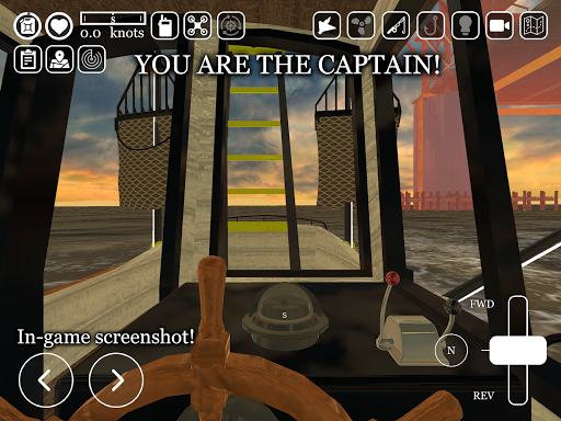 Boat Game ud83cudfa3 - Ship & Fishing Simulator uCaptain u26f5 5.9 screenshots 9