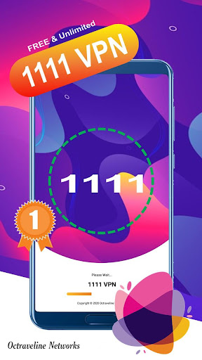 1111 VPN - A Fast, Unlimited, Free VPN Proxy 4.1 screenshots 2