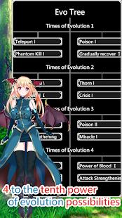 Slime Evolutionary Path - Strategy idle game 1.1.33 screenshots 1