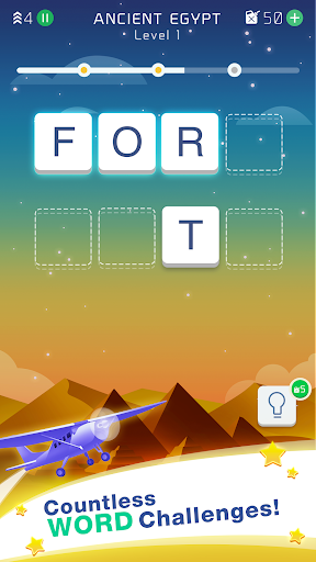 Word Travel - The Guessing Words Adventure 1.1.1 Screenshots 1