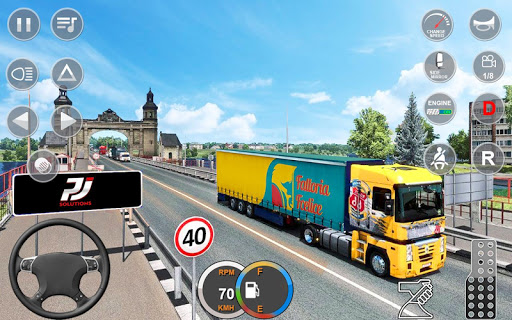Indian Mountain Heavy Cargo Truck : Euro Truck Sim android2mod screenshots 4