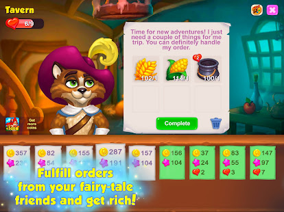 Royal Farm: Village Game with Quests & Fairy tales 1.47.0 Screenshots 9
