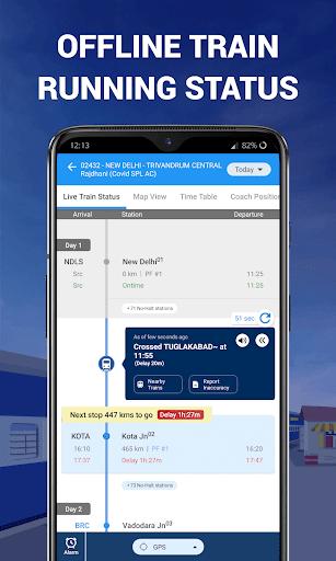 IRCTC Train Booking, PNR, Live Status - RailYatri 4.1.4 screenshots 1