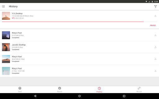 Send Anywhere (File Transfer) 21.6.3 Screenshots 7