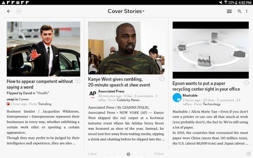 Flipboard - Latest News, Top Stories & Lifestyle 4.2.65 Screenshots 12
