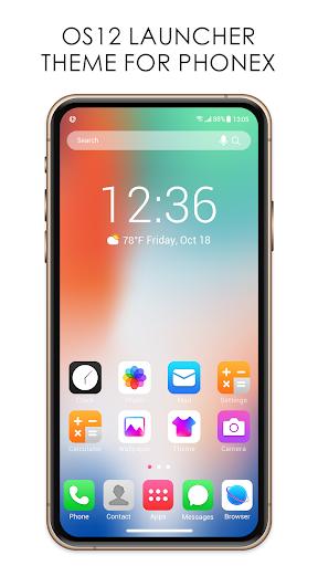 OS12 Launcher for Phone X 4.7.0.665_50125 Screenshots 1