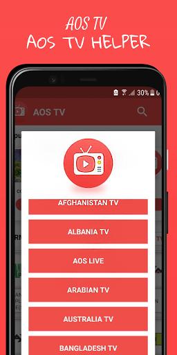 AOS TV- Free HD Live TV Guide  Screenshots 2