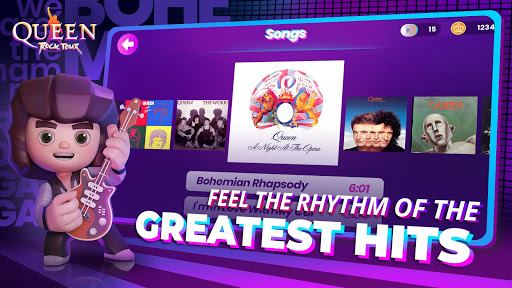 Queen: Rock Tour - The Official Rhythm Game 1.1.2 screenshots 2