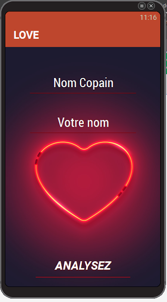 Test love screenshot 7