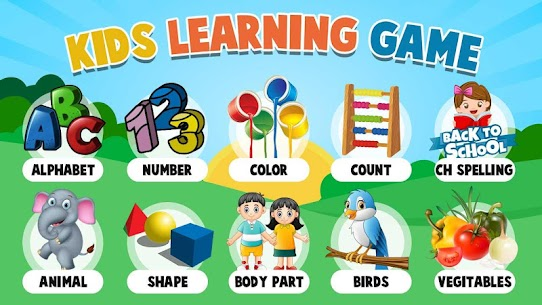 Kids Learning Games  For Pc – Download For Windows 10, 8, 7, Mac 1