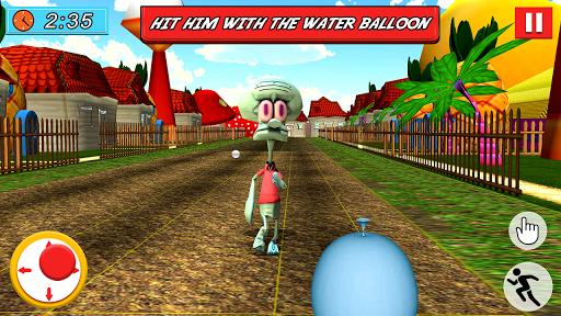 SPONGE FAMILY NEIGHBOR 2: SQUID ESCAPE 3D GAME 2.5 screenshots 5