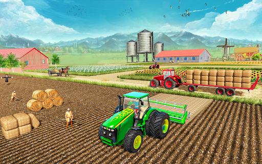 Modern Tractor Farming Simulator: Offline Games apktram screenshots 1