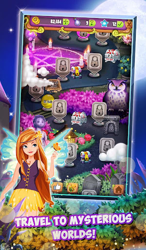 Mahjong Solitaire: Moonlight Magic 1.0.28 screenshots 1