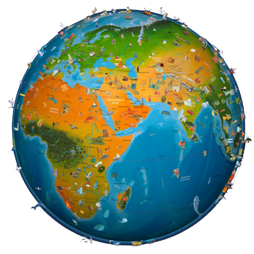 world map atlas 2021