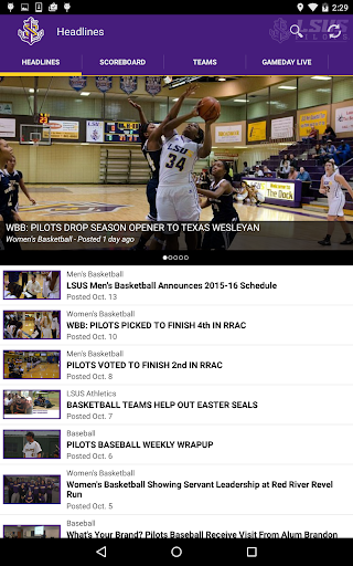 LSU Shreveport Athletics For PC Windows (7, 8, 10, 10X) & Mac Computer Image Number- 15