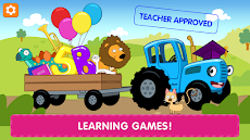 The Blue Tractor: 123 Learning Games for Babies!のおすすめ画像1