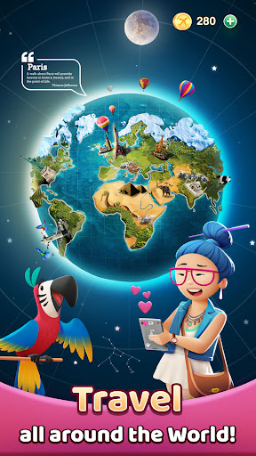 Travel Crush: New Puzzle Adventure Match 3 Game  screenshots 3