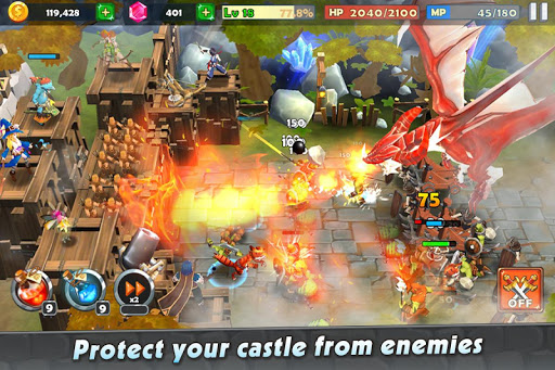 Castle Rush: Hero defender & Idle defense screenshots 2