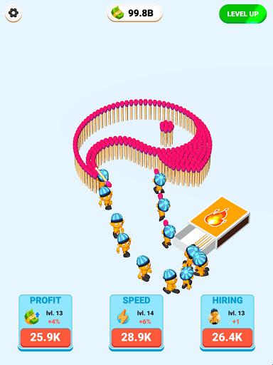 Matches Craft - Idle Game 1.0 screenshots 4