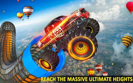 Ramp Monster Truck Stunts:New Racing Games 2.1 screenshots 5