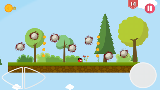 Super Red Jump Ball Mr Mustache 2.3 screenshots 4