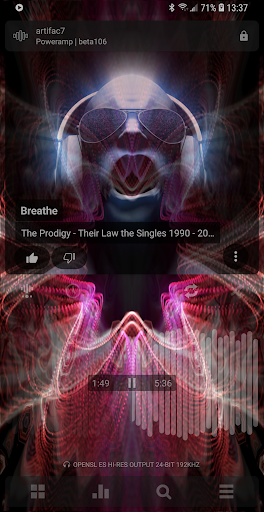 Poweramp Music Player Apk 3851 + MOD Full (Patched) Android