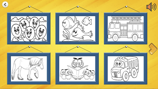 drawings for children: paint animals screenshot 3