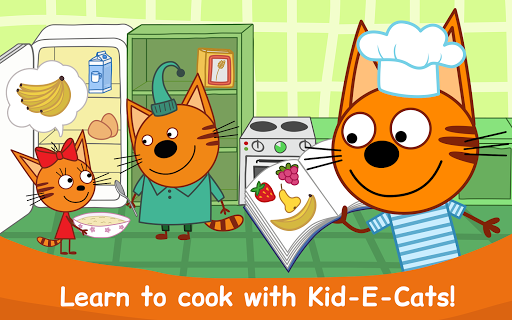 Kid-E-Cats: Cooking for Kids with Three Kittens!  screenshots 14