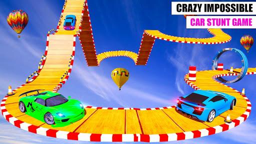 Ramp Car GT Racing Stunt Games 2020: New Car Games apkslow screenshots 7